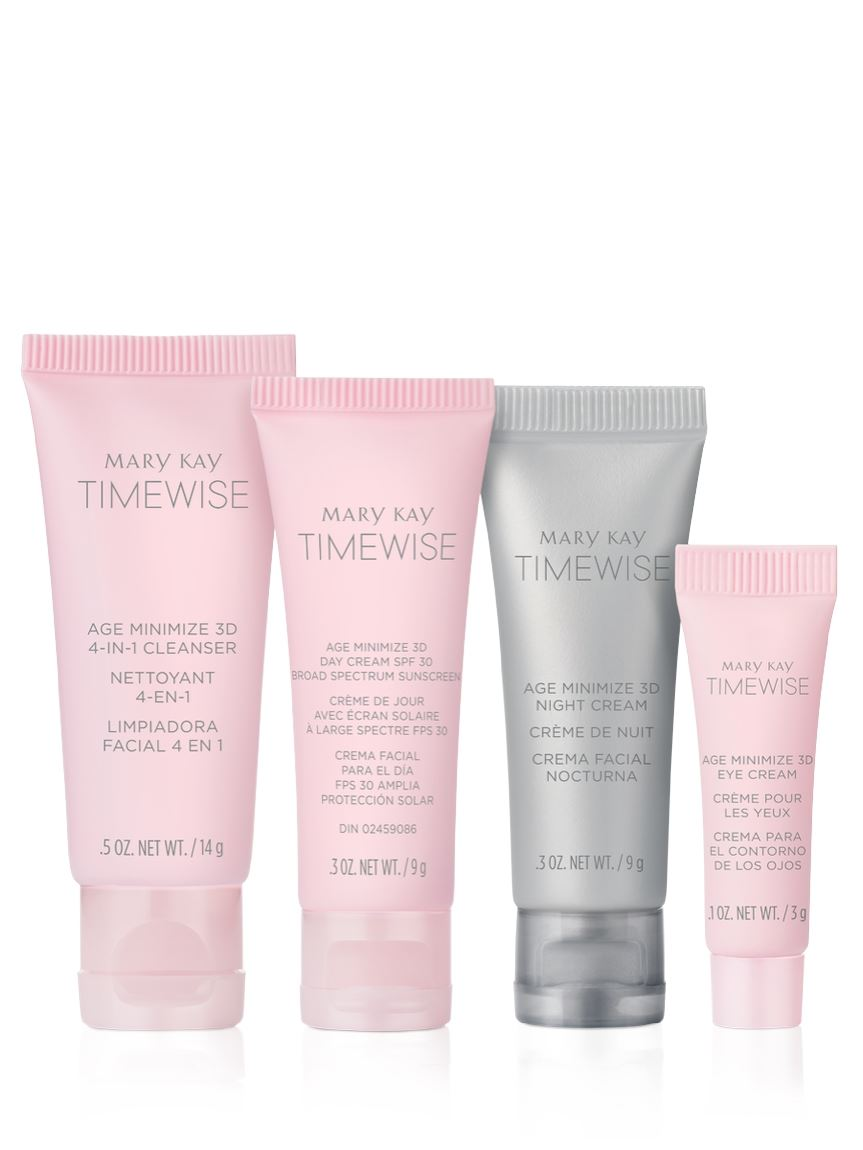 Timewise Miracle Set 3d The Go Set Normal Reseca Mary Kay