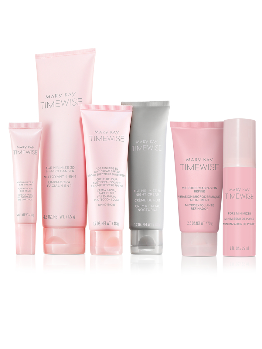 Timewise Ultimate Miracle Set 3d Normal Dry Mary Kay
