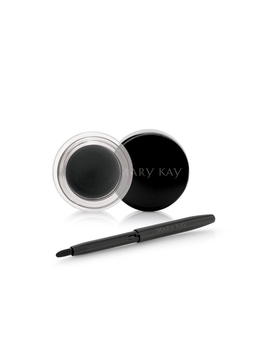 mary kay gel eyeliner with expandable brush applicator jet black